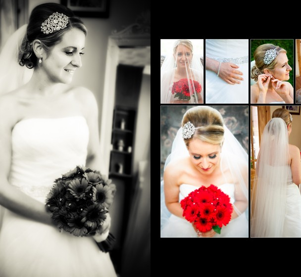 Sample Spread Bridal Portraits