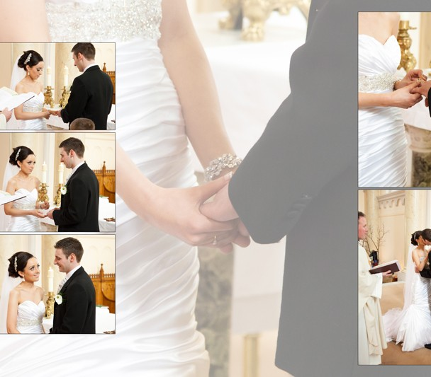 Sample design of bride and groom in St Patricks Church Ballyshannon