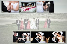 Album design of Wedding Couple at Roughey Bundoran
