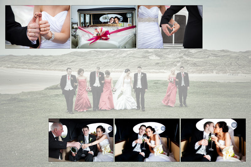Extrêmement Album design of Wedding Couple at Roughey Bundoran | Donegal and  ON59