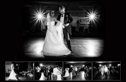Storybook sample page bride and groom first dance