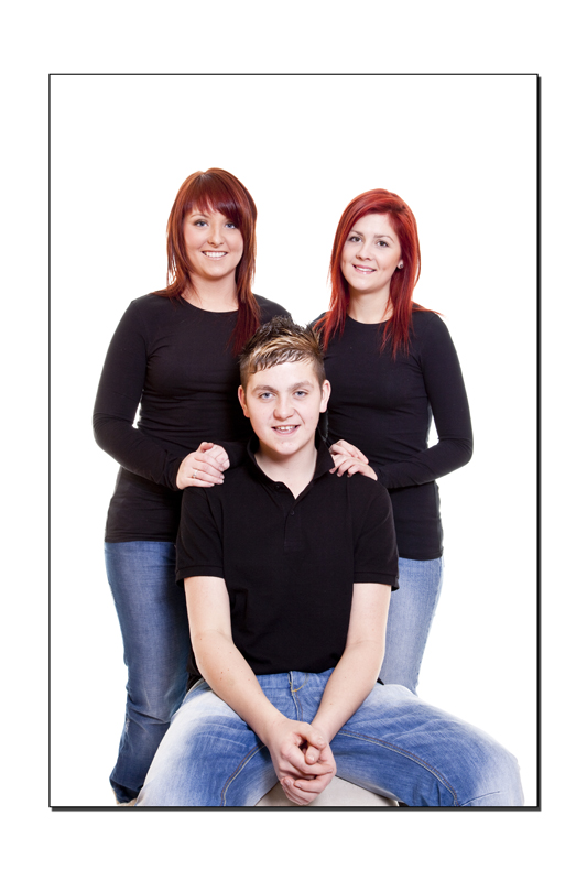 Family Portrait in colour