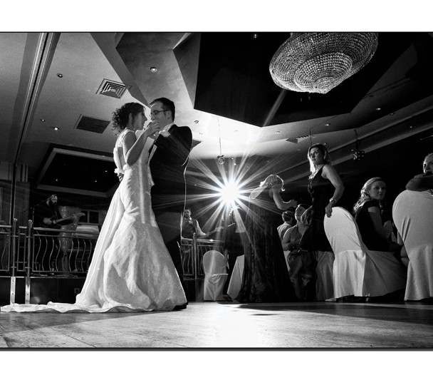 First Dance in the Abbey Hotel Donegal Town