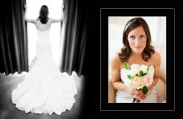 Bride Silhouette and border