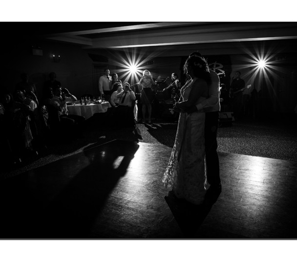 Wedding Couple first dance at Cromleach Lodge