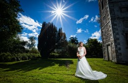 Bride photograph in Castle Archdale Co. Fermanagh