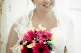 bridal portrait in Rathmullan Co Donegal