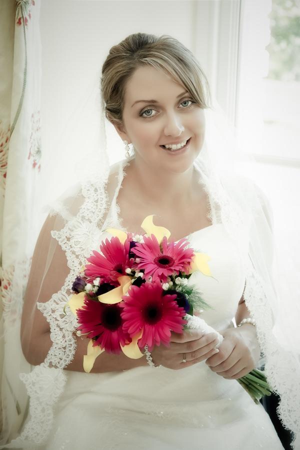 bridal portrait in Rathmullan Co Donegal