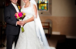 donegal wedding photography bride and groom in rathmullan church