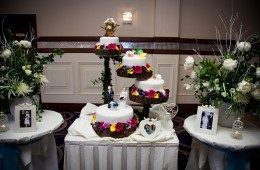 wedding cake in the silver tassie hotel letterkenny