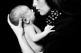 newborn baby photography sligo newborn baby with mum