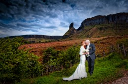 bride and groom photo in glenade co leitrim