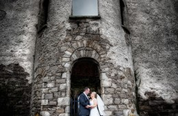 wedding photo at wardtown castle ballyshannon