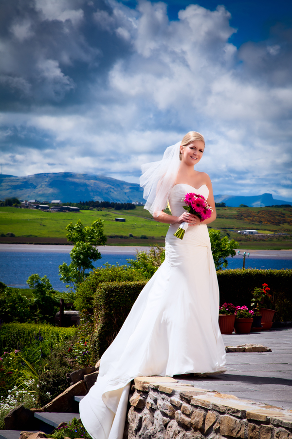 ballyshannon wedding photographer bridal portrait