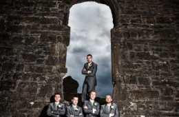 donegal wedding photographer groom and groomsmen photo