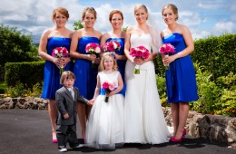 mill park hotel weddings bride and bridesmaids