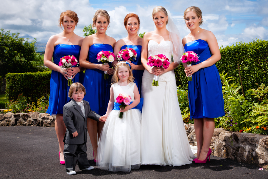 Mill Park Hotel Weddings Bride And Bridesmaids Donegal