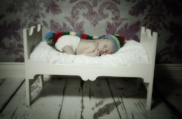 newborn baby photography donegal baby boy on a bed