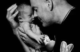 newborn baby photography sligo father and son