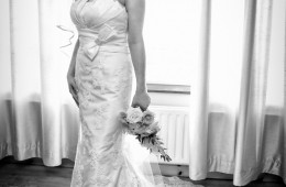 sligo wedding photography bridal portrait in brides home
