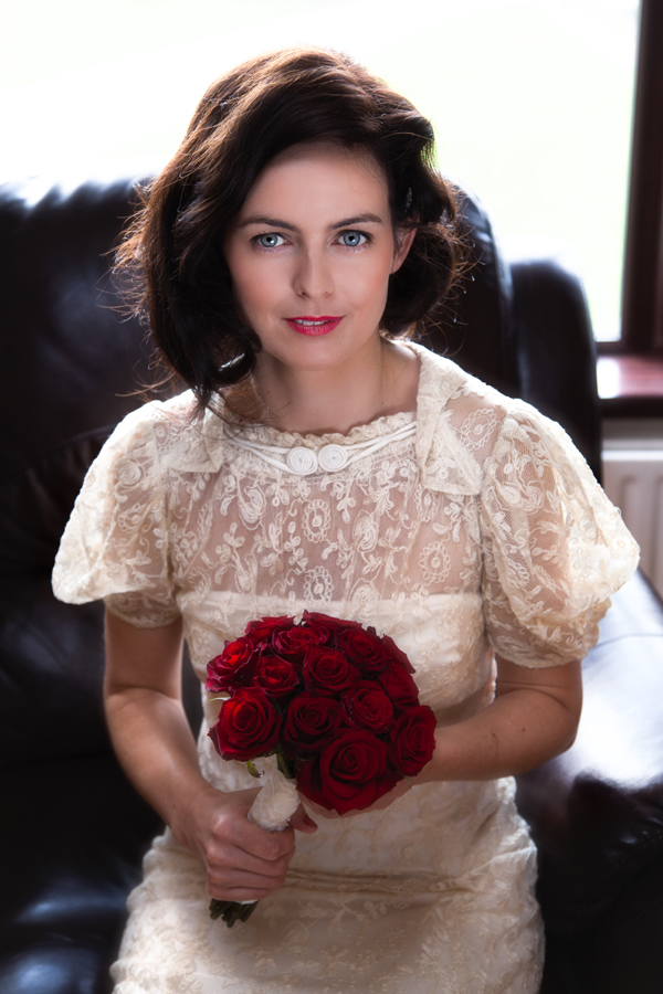 donegal wedding photographer stunning bridal portrait