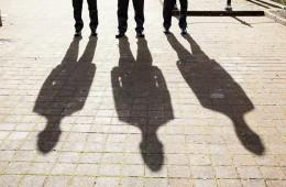 donegal wedding photography groomsmen shadows