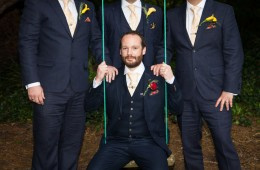 sligo weding photography groom with groomsmen