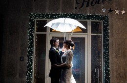 christmas wedding photography at the villa rose hotel ballybofey
