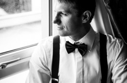 villa rose hotel groom portrait
