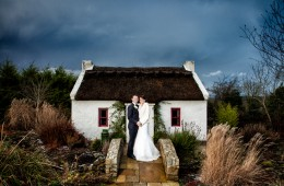 winter wedding in the villa rose hotel