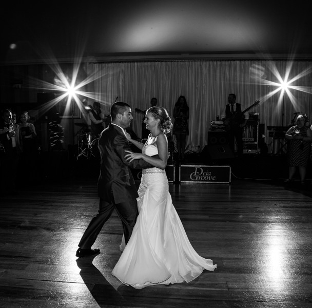 first dance in the mill park hotel wedding photography