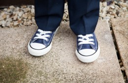 pageboy wedding converse