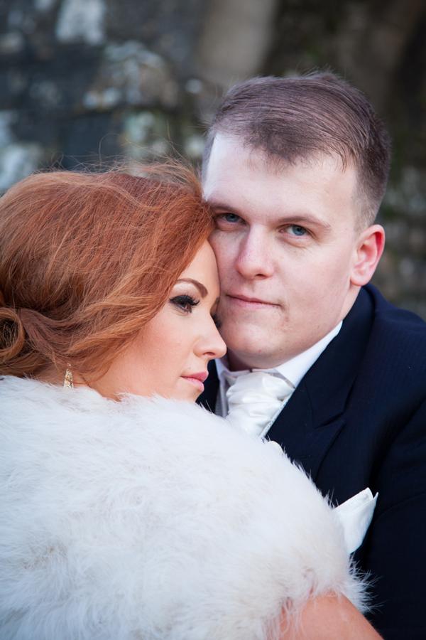 trim castle wedding photo
