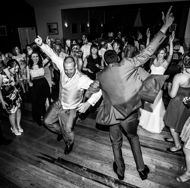 wedding in the mill park hotel dancing photograph