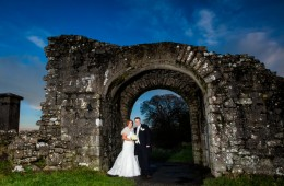 wedding in trim castle