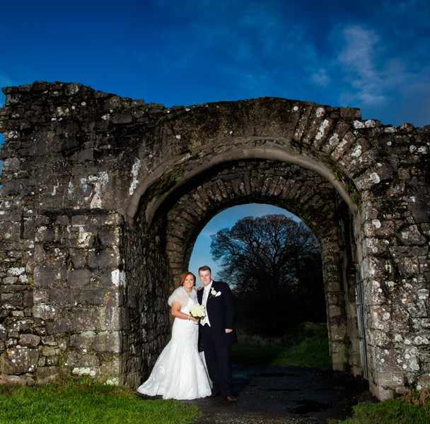 wedding in trim castle