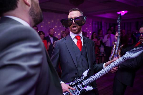 landmark hotel wedding reception