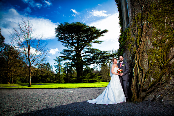 longford wedding photographers groom with bride