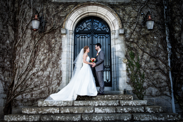 wedding photographers in longford bride and groom