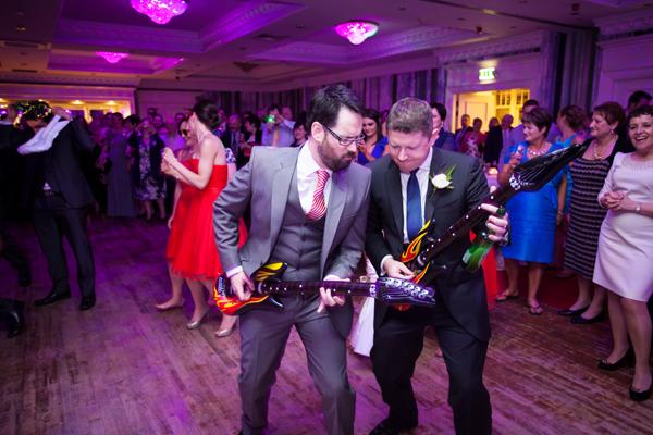 wedding reception in the landmark hotel