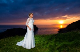 bundoran sunset wedding photos