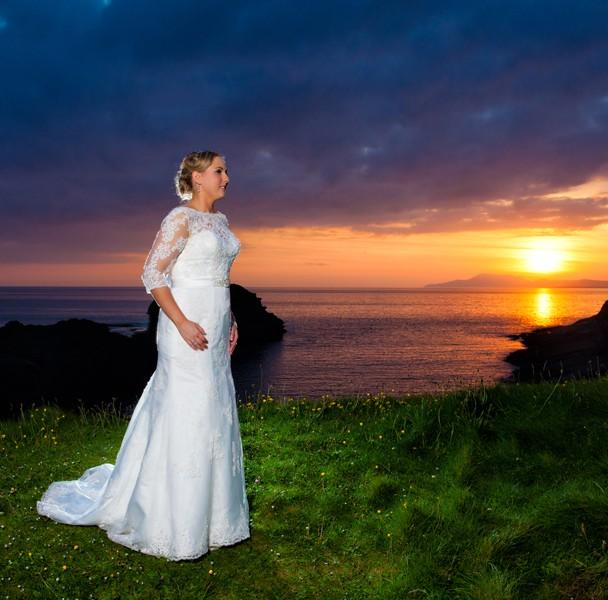 bundoran sunset wedding photos