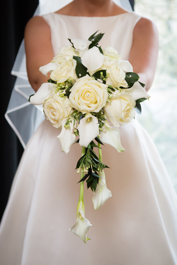 brides wedding bouquet in donegal