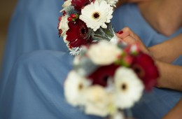 bridesmaids bouquets in donegal wedding