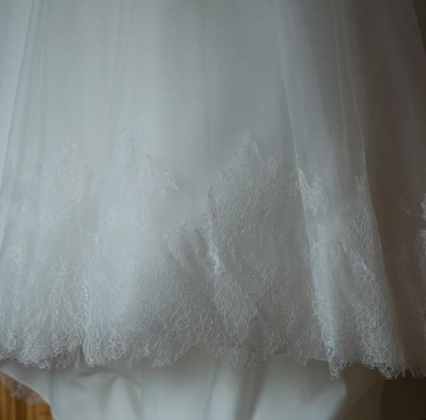 leitrim wedding photography wedding photo of the brides wedding dress