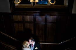 wedding photo taken in solis lough eske castle wedding