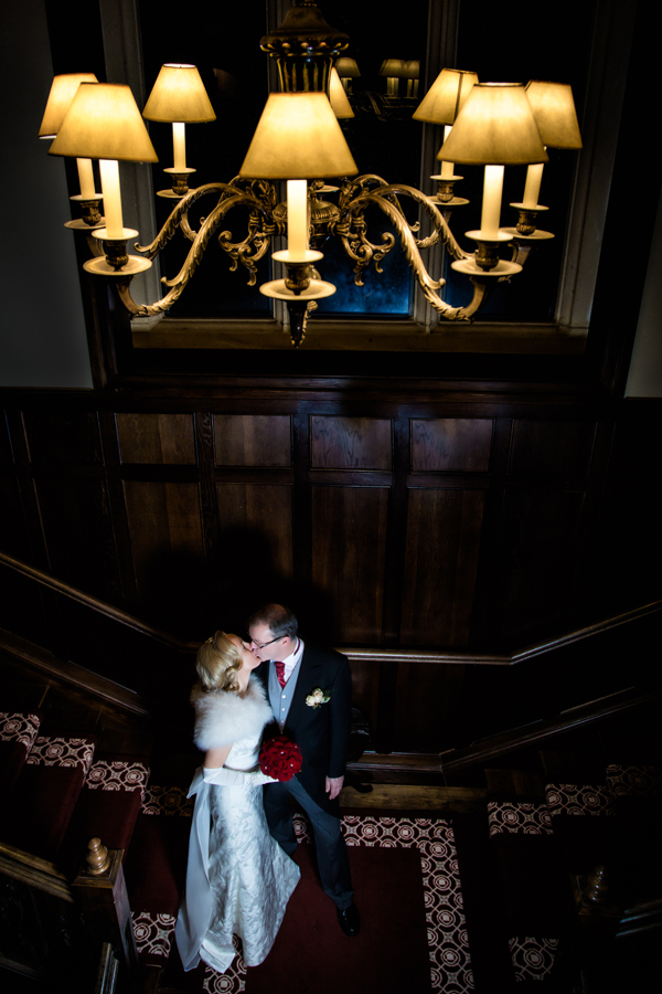 wedding photo taken in solis lough eske castle wedding