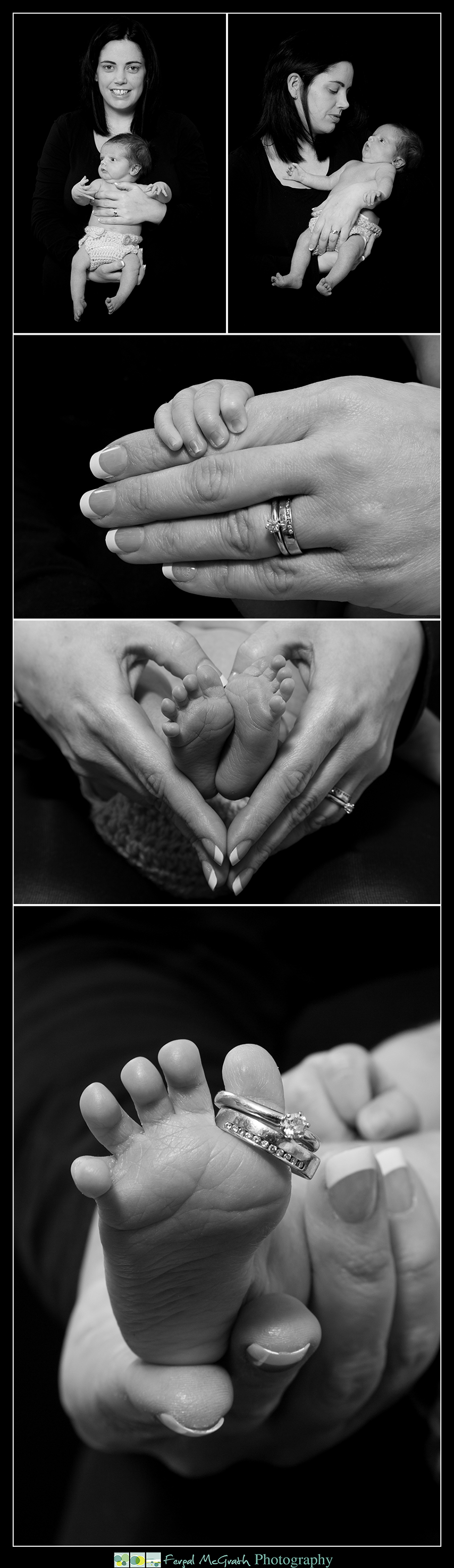 Newborn Baby Photography Donegal and Sligo baby boy with his mother