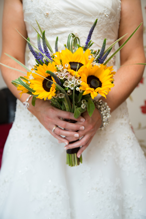 sligo wedding photography detail shot of the brides bouquet