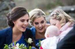 bridal party photo donegal wedding
